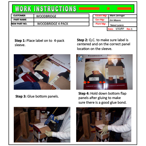 work-instructions